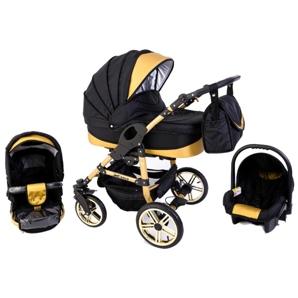 Tabbi ECO X GOLD | 3 in 1 pram & pushchair set