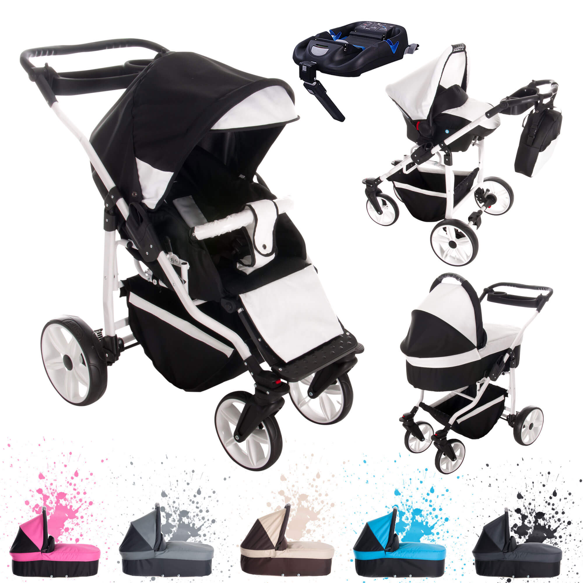 bebebi z rich isofix basis autositz 4 in 1 kombi. Black Bedroom Furniture Sets. Home Design Ideas