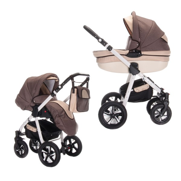 Friedrich Hugo Mandala | 2 in 1 Kombi Kinderwagen